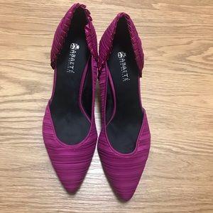 Shoes - Magenta pink / purple  kitten heels